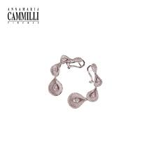 18K金镶嵌钻石耳环女时尚个性收藏